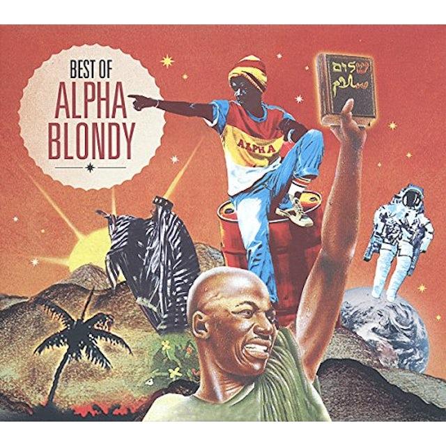 Alpha Blondy BEST OF CD