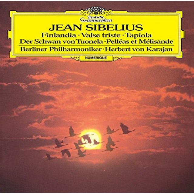 Sibelius / Herbert Von Karajan SIBELIUS: FINLANDIA / TAPIOLA / PELLEA CD