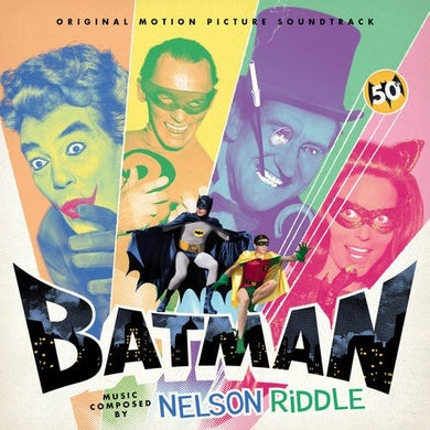 Nelson Riddle BATMAN - MOVIE ('66) CD