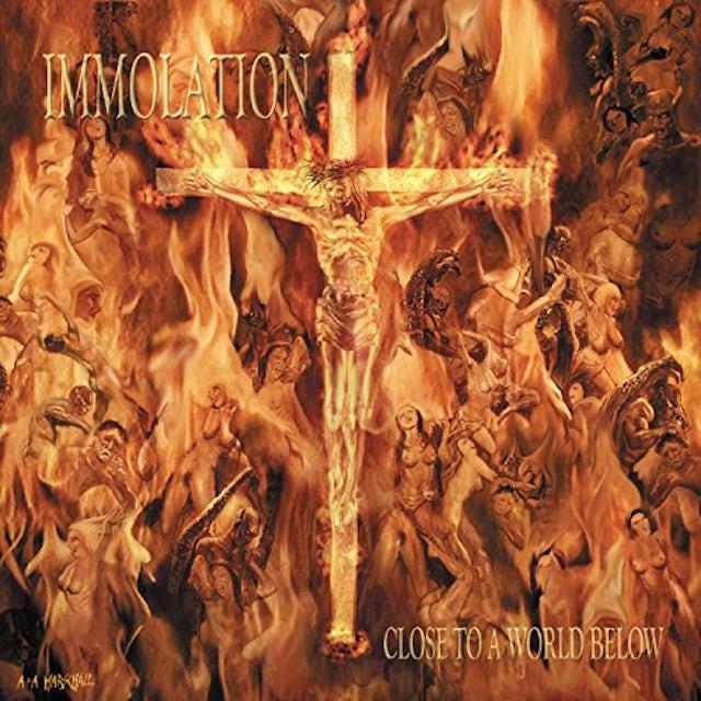 Immolation CLOSE TO A WORLD BELOW Vinyl Record