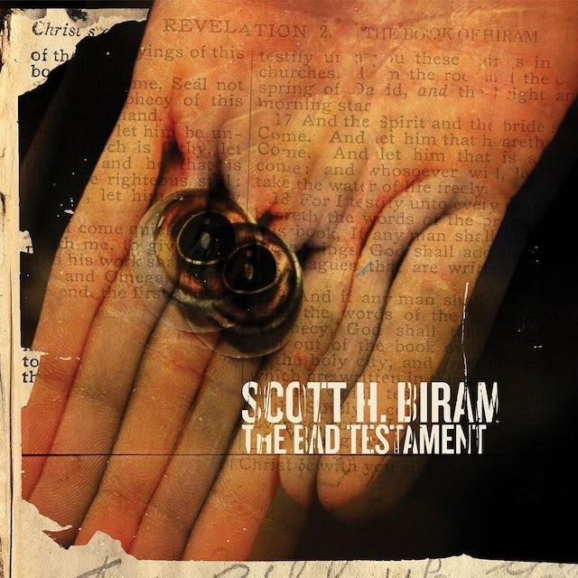 Scott H Biram THE BAD TESTAMENT Vinyl Record
