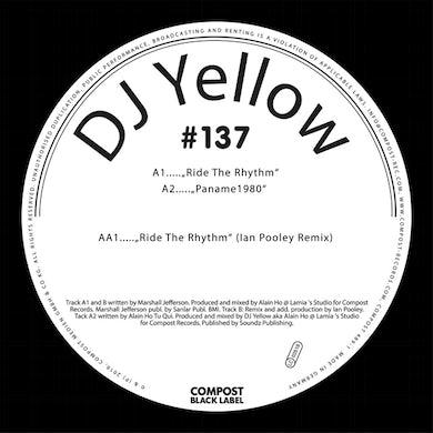 DJ Yellow COMPOST BLACK LABEL 137 Vinyl Record