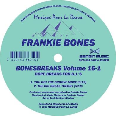 Frankie Bones BONESBREAKS 16-1 Vinyl Record