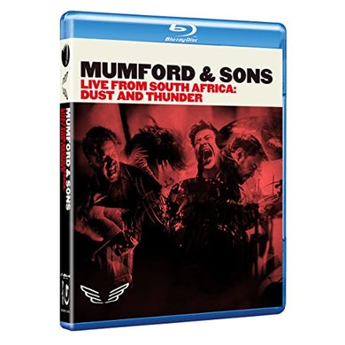 Mumford & Sons LIVE FROM SOUTH AFRICA: DUST & THUNDER Blu-ray