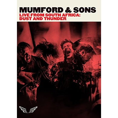 Mumford & Sons LIVE FROM SOUTH AFRICA: DUST & THUNDER DVD