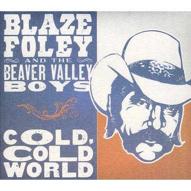 Blaze Foley COLD COLD WORLD CD