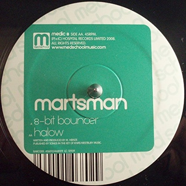 Martsman 8-BIT BOUNCER Vinyl Record