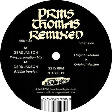GERD JANSON REMIXES Vinyl Record