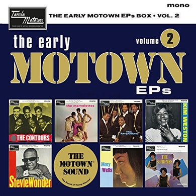 Early Motown Ep'S Volume 2 / Various Vinyl Record Box Set