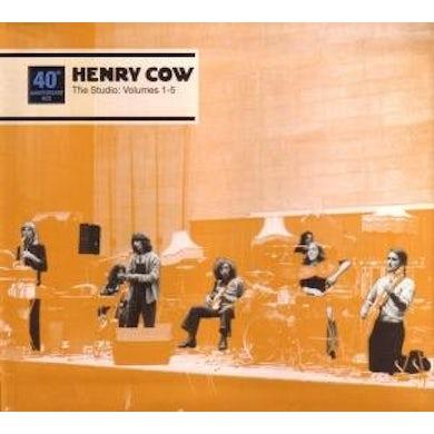 Henry Cow STUDIO 3 CD