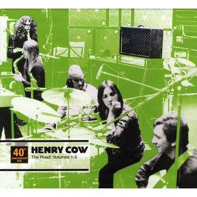 Henry Cow ROAD 1-5 (40TH ANNIVERSARY) CD