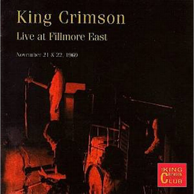 King Crimson COLLECTOR'S CLUB: 1969.11.21&22 CD