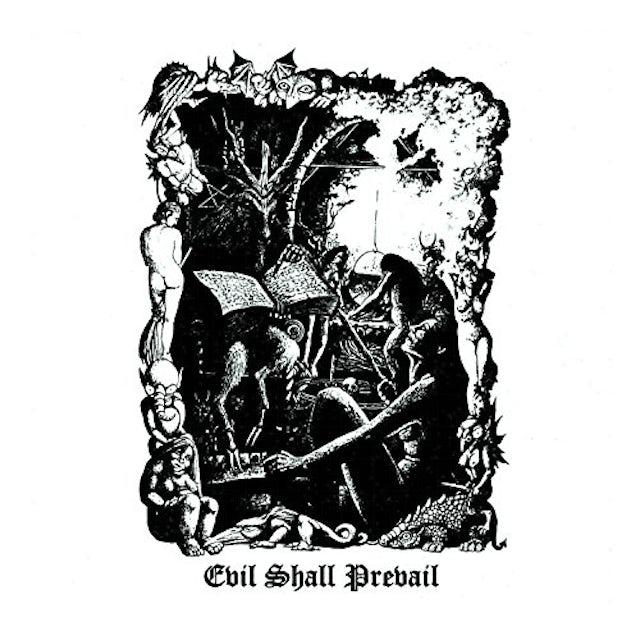 Black Witchery EVIL SHALL PREVAIL CD