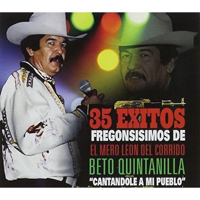 Beto Quintanilla CANTANDOLE A MI PUEBLO CD