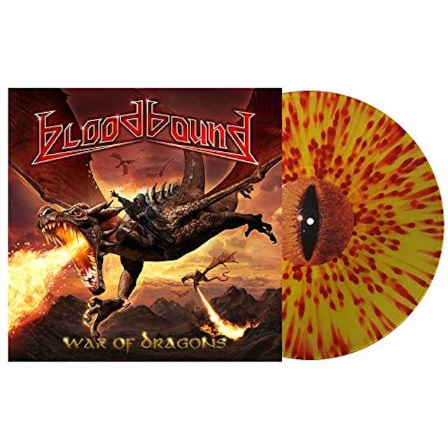Bloodbound WAR OF DRAGONS Vinyl Record