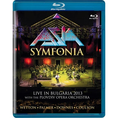Asia SYMFONIA: LIVE IN BULGARIA 2013 Blu-ray