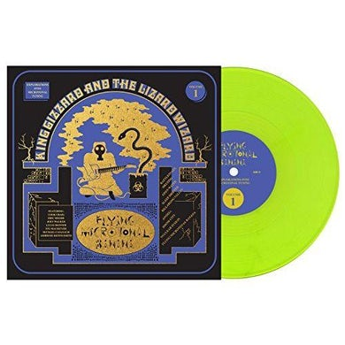 King Gizzard & The Lizard Wizard FLYING MICROTONAL BANANA - Limited Edition Neon Colored Vinyl Record
