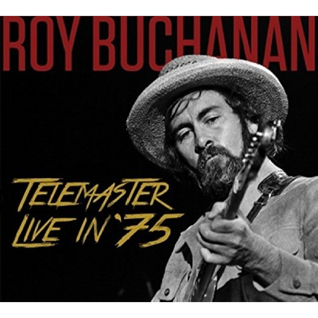Roy Buchanan TELEMASTER LIVE IN '75 CD