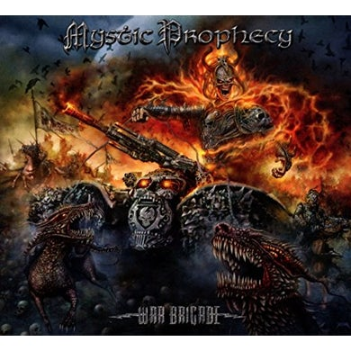 Mystic Prophecy WAR BRIGADE CD