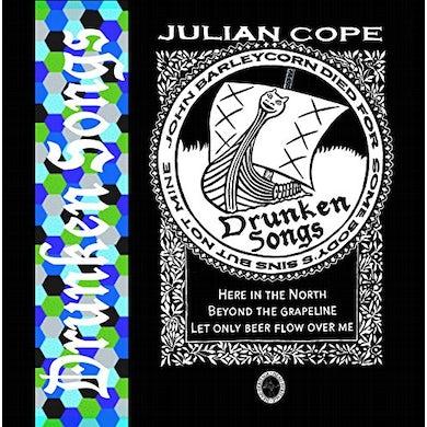 Julian Cope DRUNKEN SONGS CD