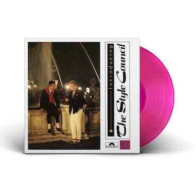 Style Council INTRODUCING (MAGENTA VINYL) Vinyl Record