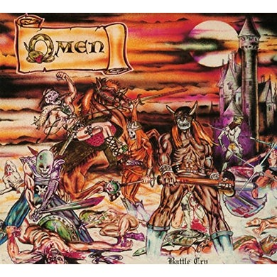 Omen BATTLE CRY CD