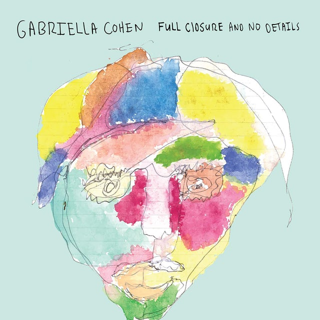 Gabriella Cohen FULL CLOSURE & NO DETAILS CD