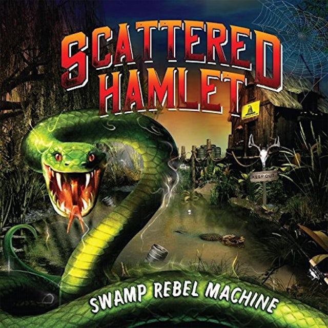Scattered Hamlet SWAMP REBEL MACHINE CD
