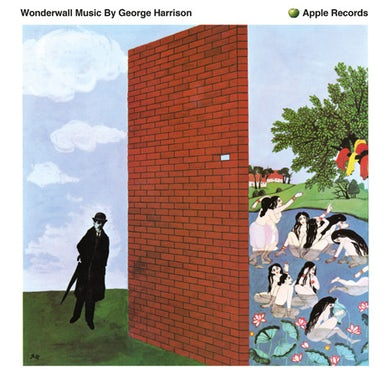 George Harrison WONDERWALL MUSIC Vinyl Record