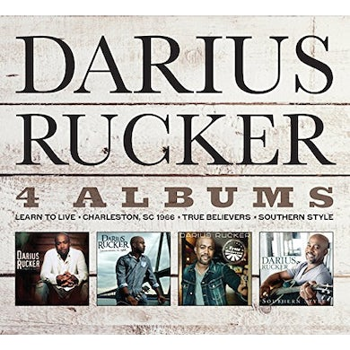 Darius Rucker 4 CD SET CD