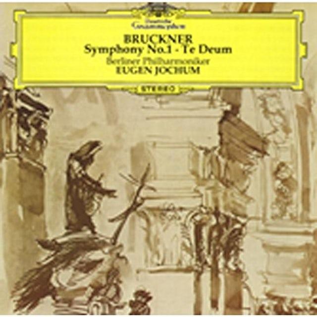Bruckner / Eugen Jochum BRUCKNER: SYMPHONY 1 / TE DEUM CD