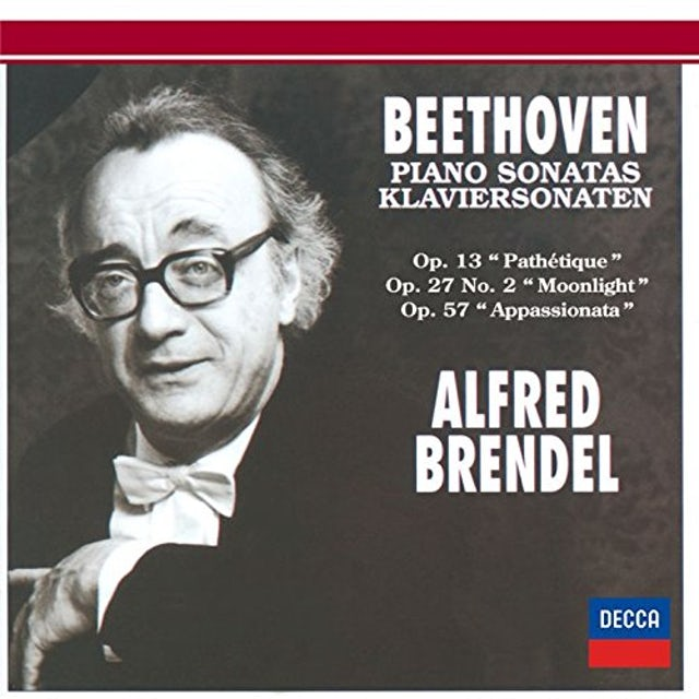 Alfred Brendel;Ludwig van Beethoven BEETHOVEN: PIANO SONATAS 8 & 14 CD