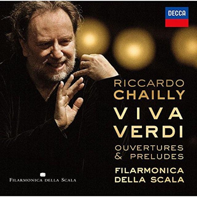 Riccardo Chailly VIVA VERDI OVERTURES & PRELUDES CD