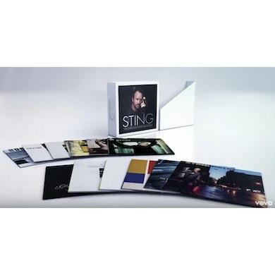 Sting COMPLETE STUDIO COLLECTION Vinyl Record Box Set