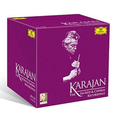 Herbert Von Karajan  KARAJAN SACRED & CHORAL RECORDINGS CD