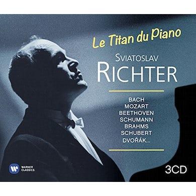 Sviatoslav Richter LE TITAN DU PIANO CD