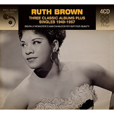 Ruth Brown 3 CLASSIC ALBUMS PLUS CD