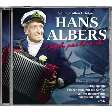 Hans Albers HOPPLA JETZT KOMM ICH CD