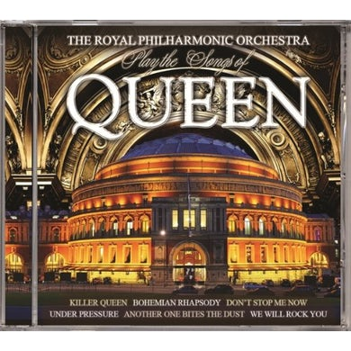 Royal Philharmonic Orchestra RPO PLAYS THE SONGS OF QUEEN CD