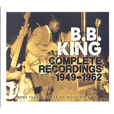 B.B. King COMPLETE RECORDINGS 1949-1962 CD