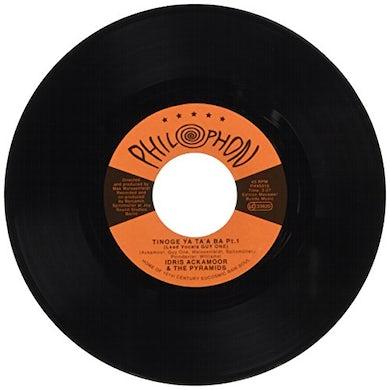 Idris Ackamoor & The Pyramids TINOGE YA TA'A BA PT 1 & 2 Vinyl Record