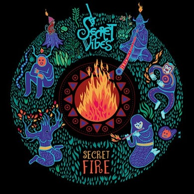 Secret Vibes SECRET FIRE CD