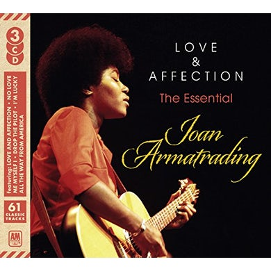 Joan Armatrading LOVE & AFFECTION: ESSENTIAL JOAN CD