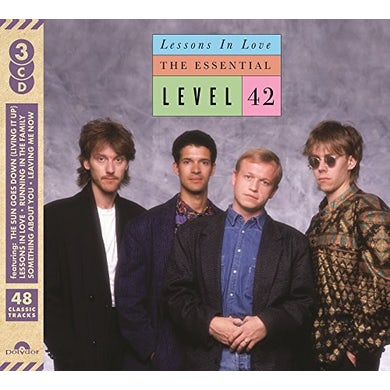 LESSONS IN LOVE: ESSENTIAL LEVEL 42 CD