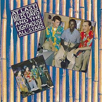 Miles Davis & Lightouse All-Stars AT LAST Vinyl Record