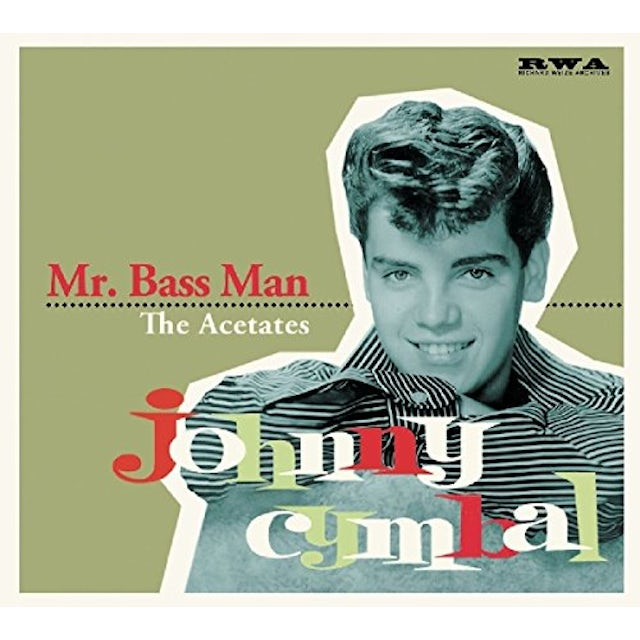 Johnny Cymbal MR BASS MAN: ACETAT CD