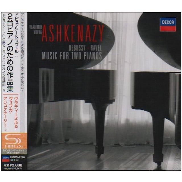 Vladimir Ashkenazy DEBUSSY & RAVEL: MUSIC FOR TWO PIANOS CD