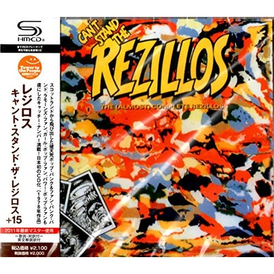 CAN'T STAND THE REZILLOS CD