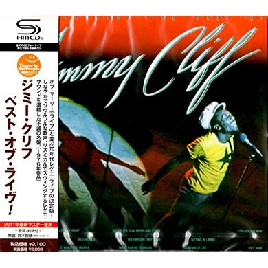 Jimmy Cliff BEST OF LIVE! CD