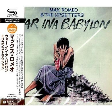 Max Romeo  WAR IN A BABYLON CD